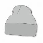 Klassische Strickmütze MB7500 mit Stick