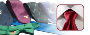 Krawatten gewebt oder gedruckt